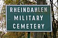Rheindahlen, Militär Friedhof Infotafel.jpg