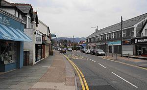 Rhiwbina - Image: Rhiwbina village, Cardiff geograph 3434368 by Bill Boaden