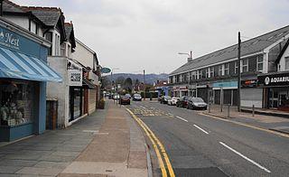 Rhiwbina suburb of Cardiff, Wales