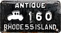 Rhode Island 1955 antique vehicle license plate.jpg