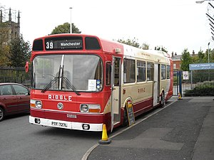 Ribble Motor Services - Preserved Leyland National at the Museum of Transport in Manchester in October 2008