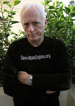 English: Ric O'Barry in Los Angeles in June 2009.
