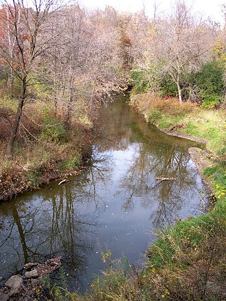 Rice Creek (Mississippi River tributary) - Rice Creek in Fridley