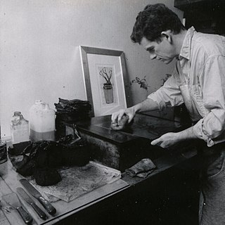 Richard Spare British artist & master printmaker