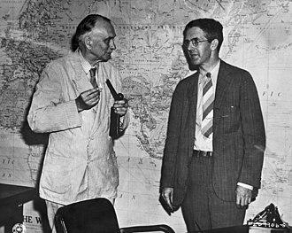 Smyth Report - Richard Tolman (left) and Henry D. Smyth (right)