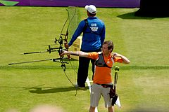 Rick van der Ven and Cheng-Wei Kuo 2012 Olympics.jpg