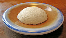 Ricotta dome on plate from the side.jpg