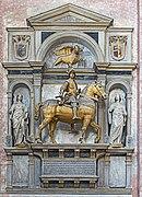 Right transept of Santi Giovanni e Paolo (Venice) - Tomb of Niccolò Orsini di Pitigliano.jpg