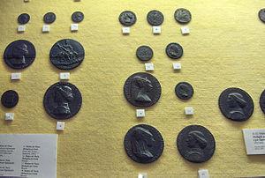 Matteo de' Pasti - Medallions of Sigismondo Pandolfo Malatesta. Museo della città di Rimini.