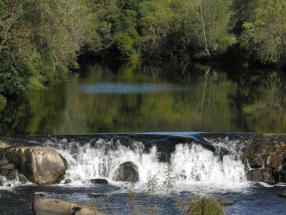 Rio Tambre.Portor.Ponte Maceira
