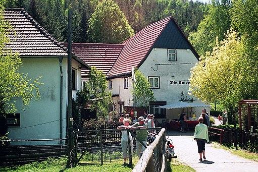 Ritzgerode (Mansfeld), die Untermühle