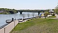 River Landing Spray Park and South Saskatchewan River, Saskatoon (505729) (26058357502).jpg