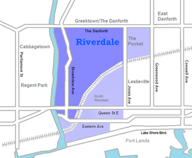 Location of Riverdale