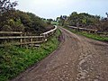 Road bridge at the old Crosshill Station - geograph.org.uk - 334597.jpg