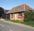 Roadside building incorporating Boxted postbox - geograph.org.uk - 971692.jpg