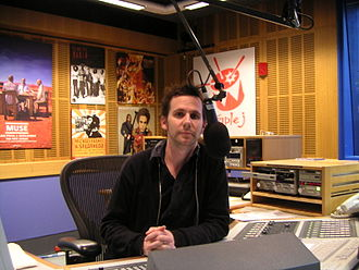Triple J - Robbie Buck in the Triple J studio