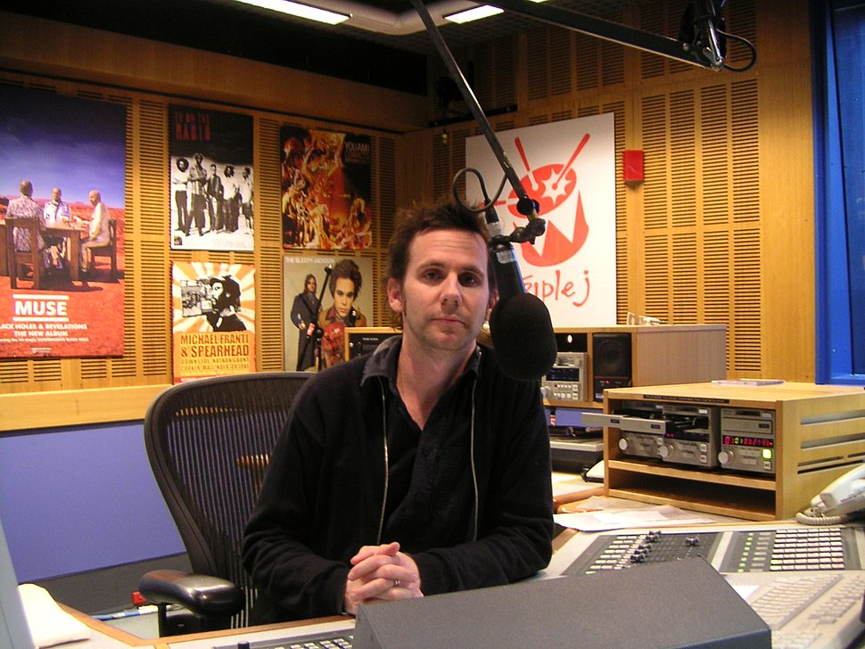 Robbie Buck of Triple J