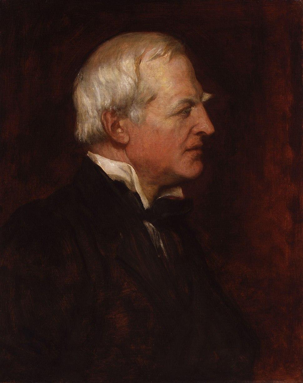 Robert Lowe, 1st Viscount Sherbrooke by George Frederic Watts