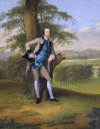 Lord Robert Manners-Sutton - Robert Manners-Sutton (Arthur Devis)