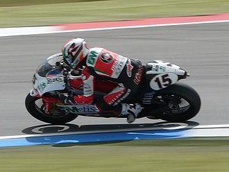 Roberto Locatelli - Locatelli at the 2008 Dutch TT.