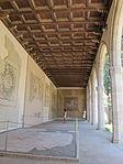 Rodi, museo archeologico, loggiato dei mosaici 01.JPG
