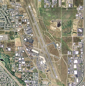 Rogue Valley International–Medford Airport - USGS 2006 orthophoto
