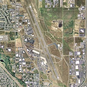 Rogue Valley International–Medford Airport - USGS 2006 orthophoto