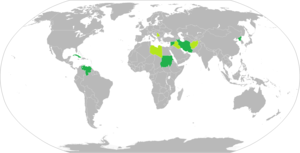 English: Map of Rogue States