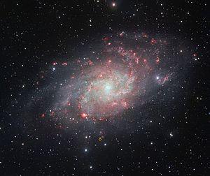 Romano's star - Image: Romano's Star in M33