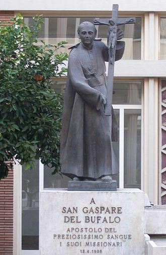 Missionaries of the Precious Blood - Statue of Gaspare del Bufalo, Collegio Preziosissimo Sangue, Rome