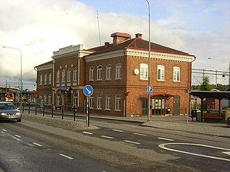 Ronneby Municipality - Ronneby Train Station
