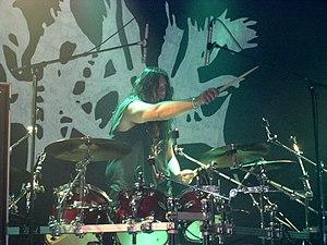 Grave (band) - Ronnie Bergerståhl, drummer. Klubben 2008