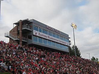 EWU–UM Governors Cup - Governors Cup sell-out (12,000) at newly renamed Roos Field in September 2010