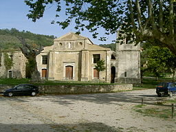 En kirke i Roscigno Vecchia