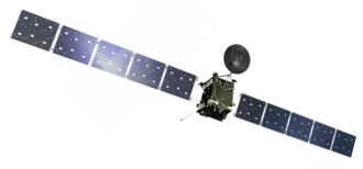 Rosetta (spacecraft) - Artist's illustration of Rosetta