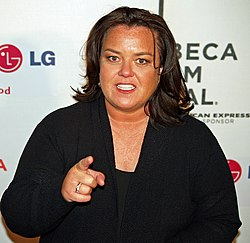 Rosie O'Donnell vid Tribeca Film Festival 2008.