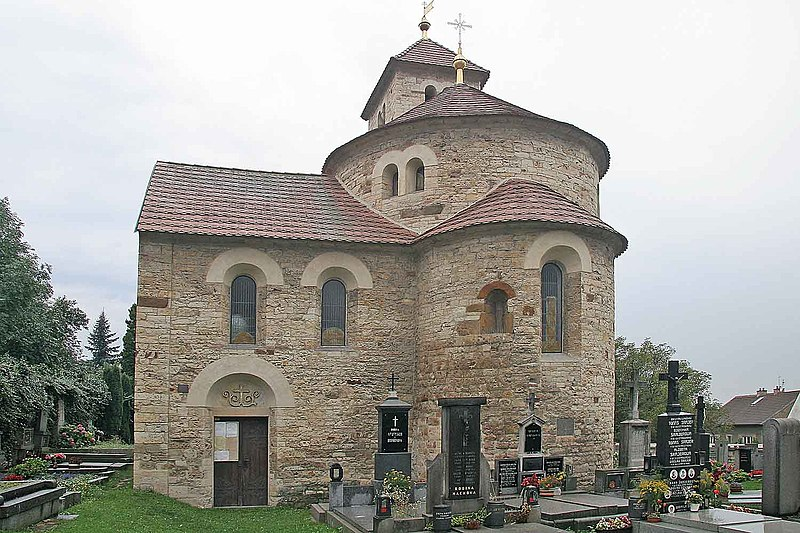 Soubor:Rotunda Svaté Kateřiny v Přední Kopanině1.jpg