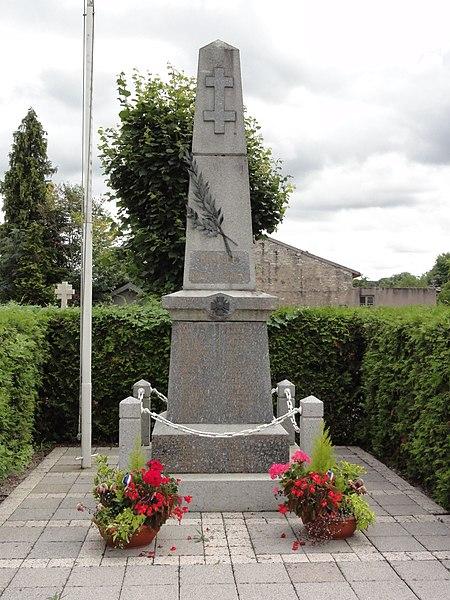 Roville-devant-Bayon (M-et-M) monument aux morts