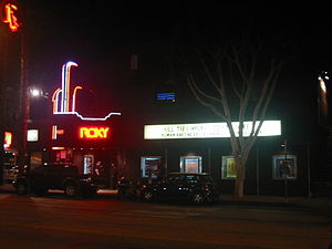 Roxy Theatre (West Hollywood) - Image: Roxy 01