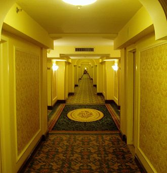 Hall - A hallway at the Royal York Hotel