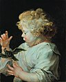 Rubens - Portrait of a boy, possibly Albert Rubens 1614-1657), son of the artist, 1616-1625.jpg