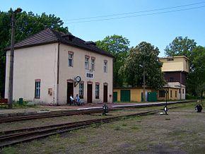 Rudy - Stacja kolejki wąskotorowej.JPG