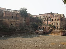 Kaithal Fort, which would have been from 1767-1843, the seat and residence of Royal family of Kaithal
