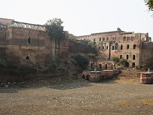 Kaithal - Ruins of Kaithal fortress, 2007. Kaithal Fort, which would have been from 1767-1843, the seat and residence of Royal family of Kaithal