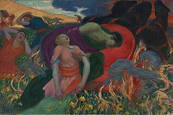 Rupert Bunny - The Rape of Persephone, 1913.jpg