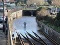 Ryde Esplanade railway line and tunnel flooding.JPG