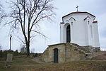 Rylski and Tchórznicki cemetery chapel in Sanok (2016)a.jpg