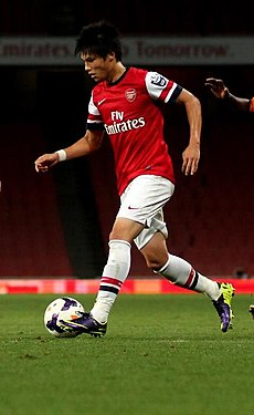 Ryo Miyaichi vs Wolves - 7 Oct 2013 (cropped).jpg