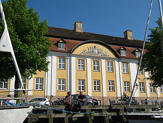 Royal Danish Naval Museum - The museum viewed from Wilder's Canal