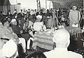 S. Radhakrishnan, Jawaharlal Nehru, Harekrushna Mahatab and A.N. Khosla talking with each other at a function.jpg
